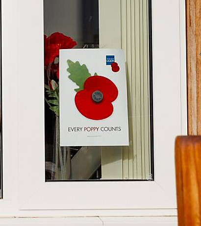 Remembrance Sunday and the Royal British Legion Poppy Appeal